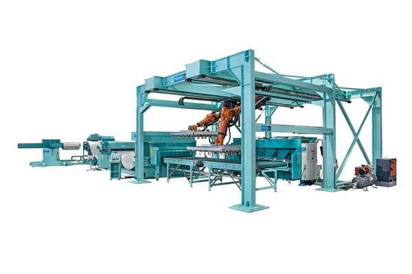 machine poinçonnage acier LANDE